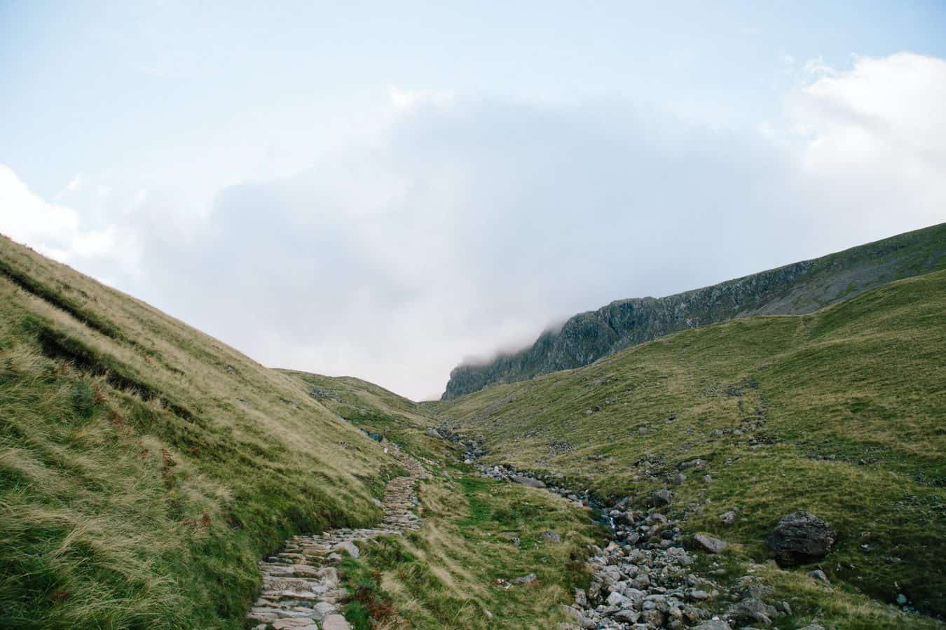 Route up Scafell Pike
