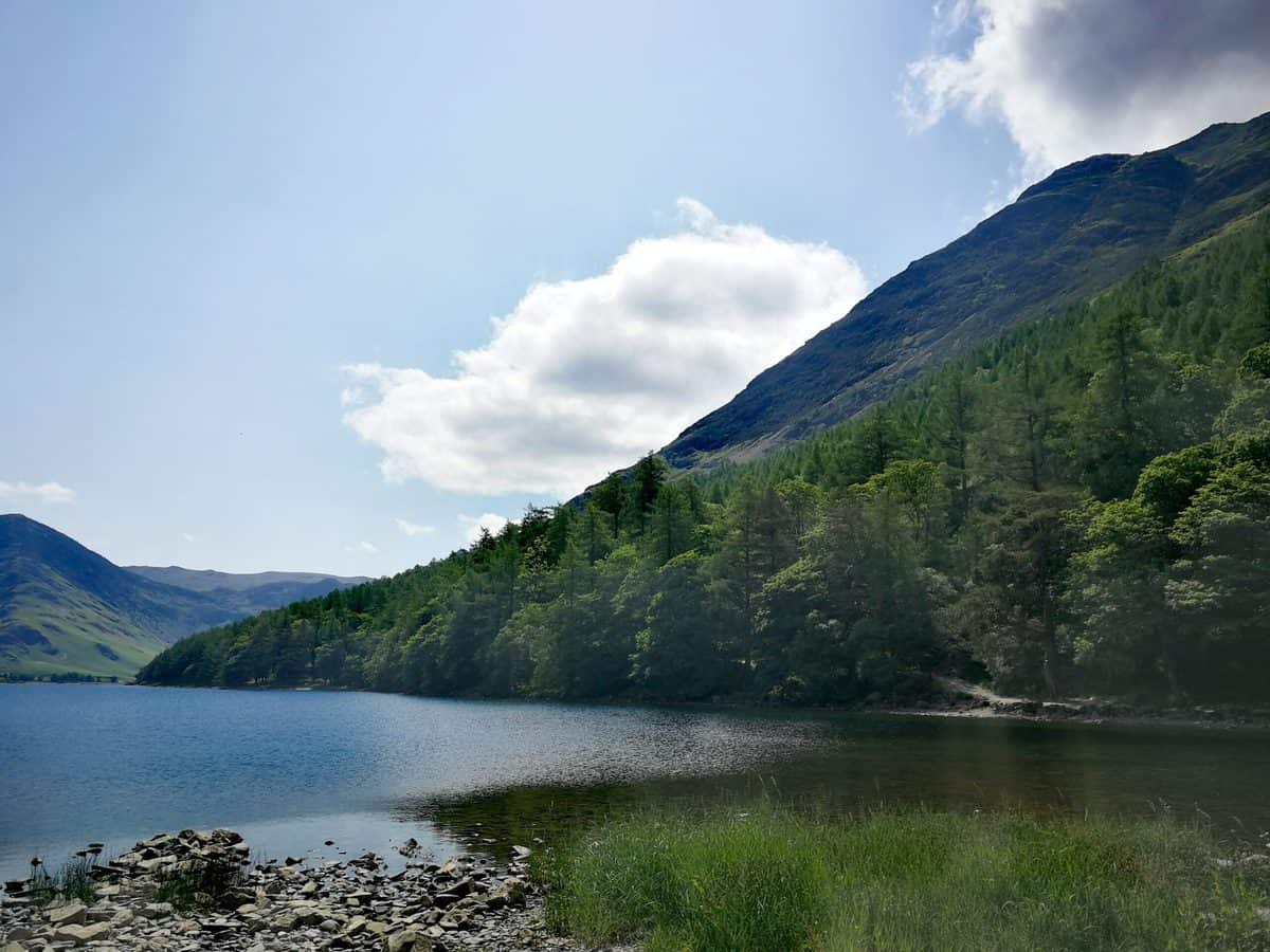 View across Buttermere for our Gallery in the Lakelands