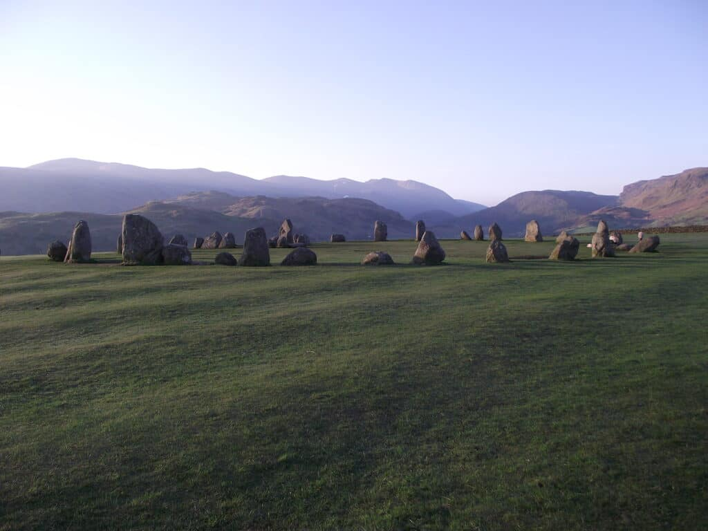 Full view of Castlerigg Stone circle