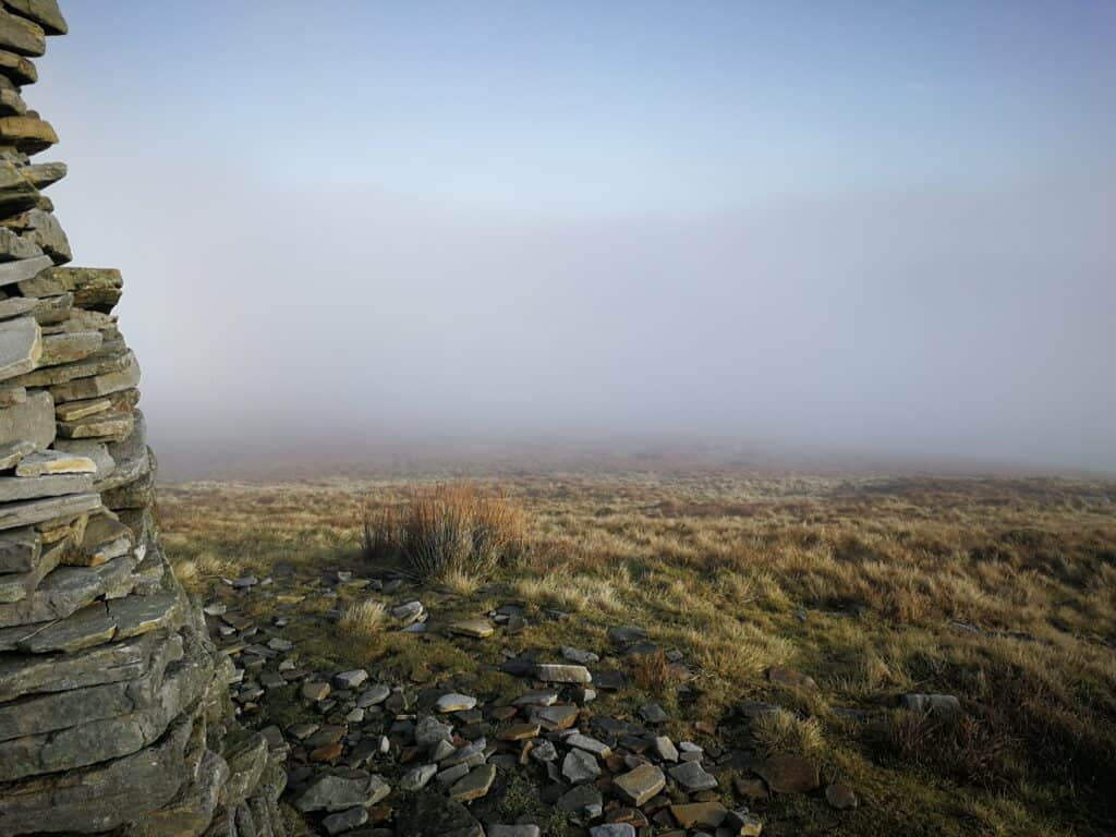 The view from a Wainwright in the Lake District that True Freedom Seekers had climbed