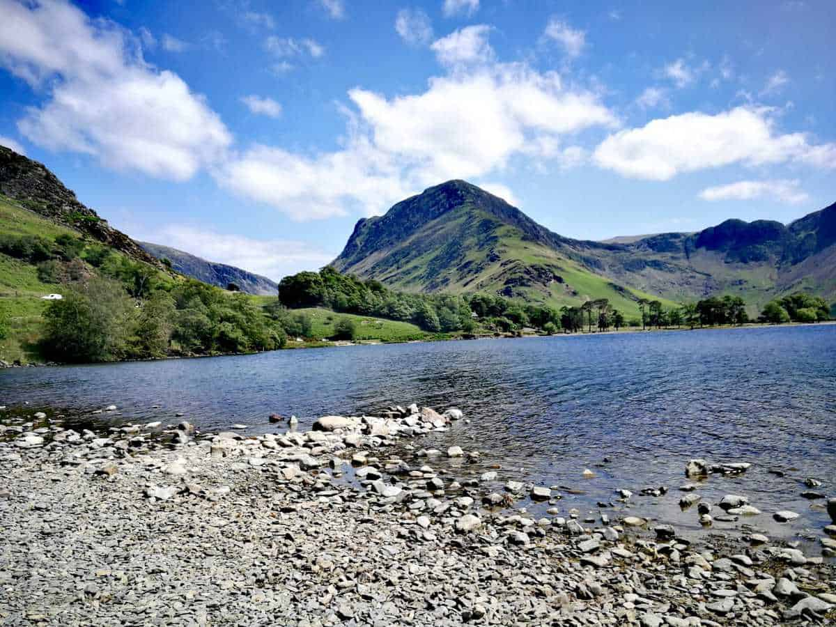 Lake Buttermere looking onto Fleetwith Pike