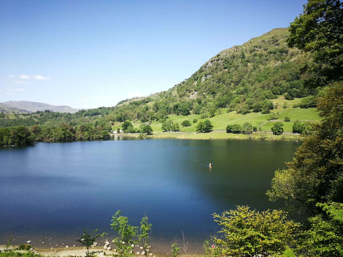 Loughrigg Fell hike from Rydal Water, one of the 214 Wainwrights in the Lake District