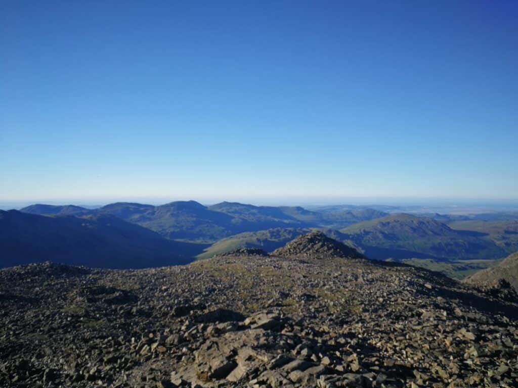 Scafell Pike view