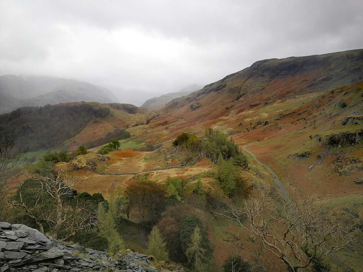Views from Castle Crag in our Wainwright Gallery