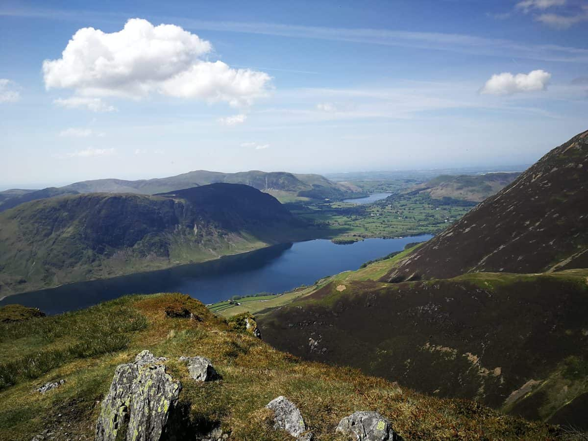 Views from Whiteless Pike (Wainwright) for our gallery