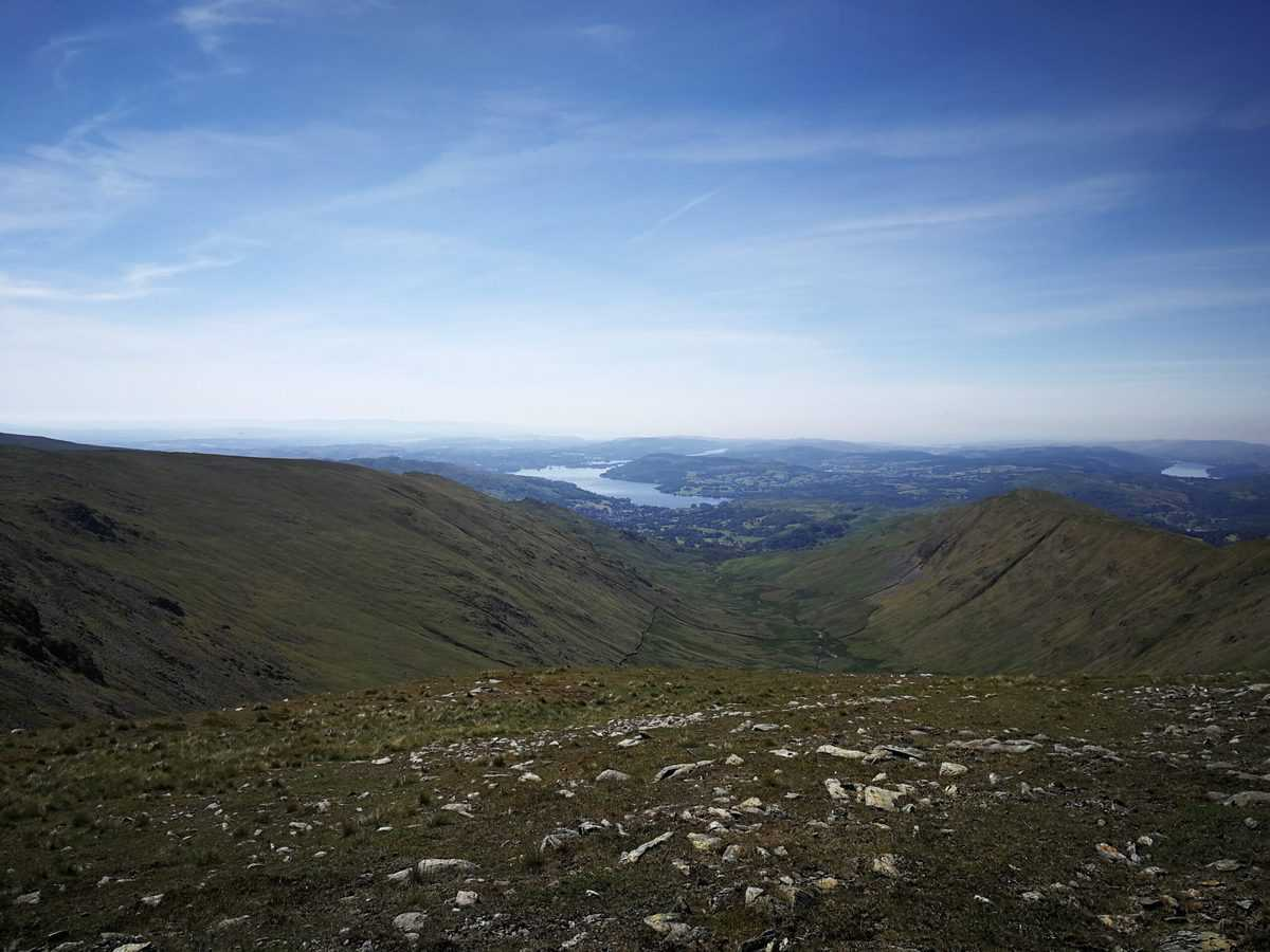 View from the summit of Fairfield
