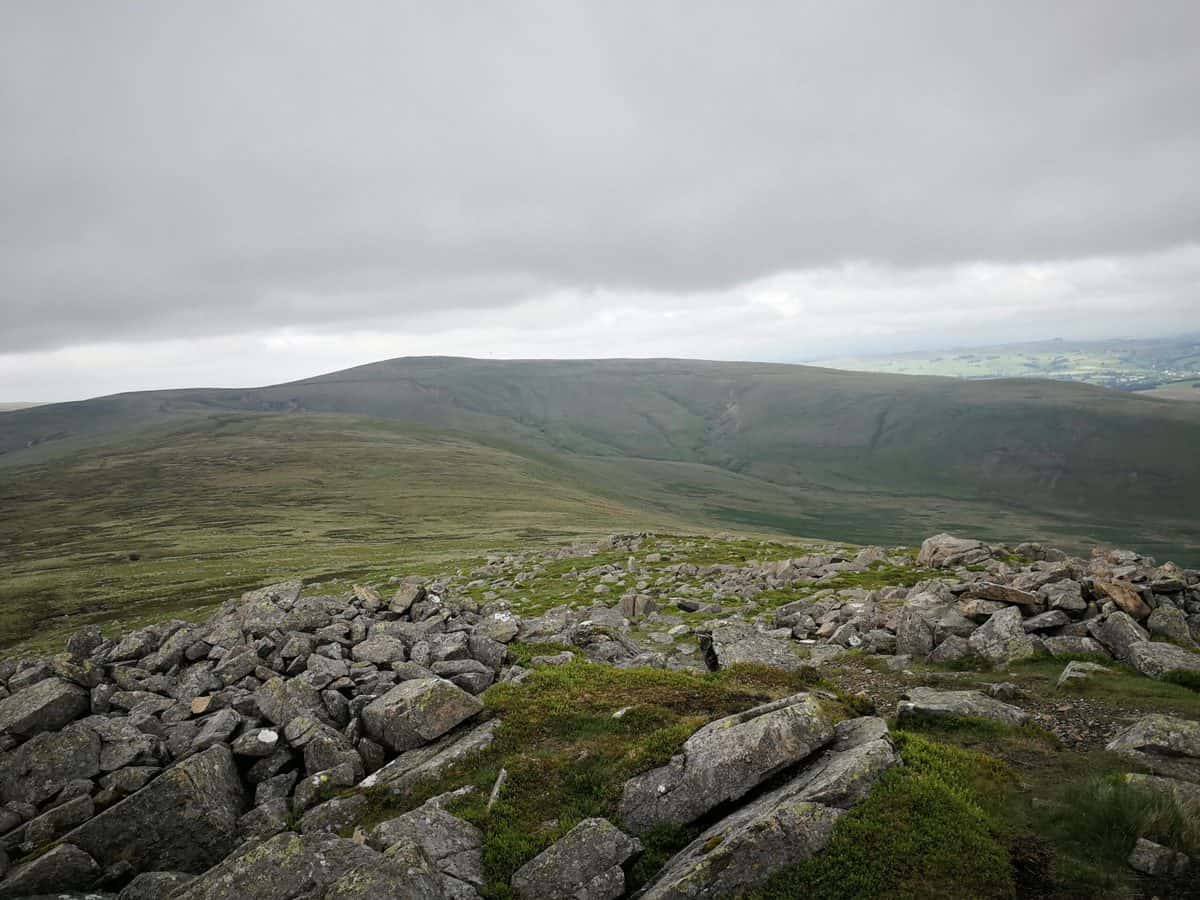 View from Carrock Fell (Wainwirhgt)