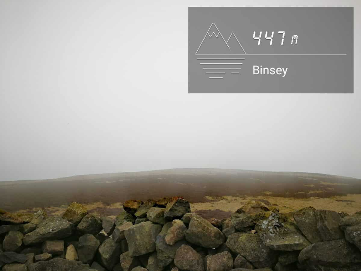 View from Binsey the Wainwright in the Lake District on a cloudy day by True Freedom Seekers