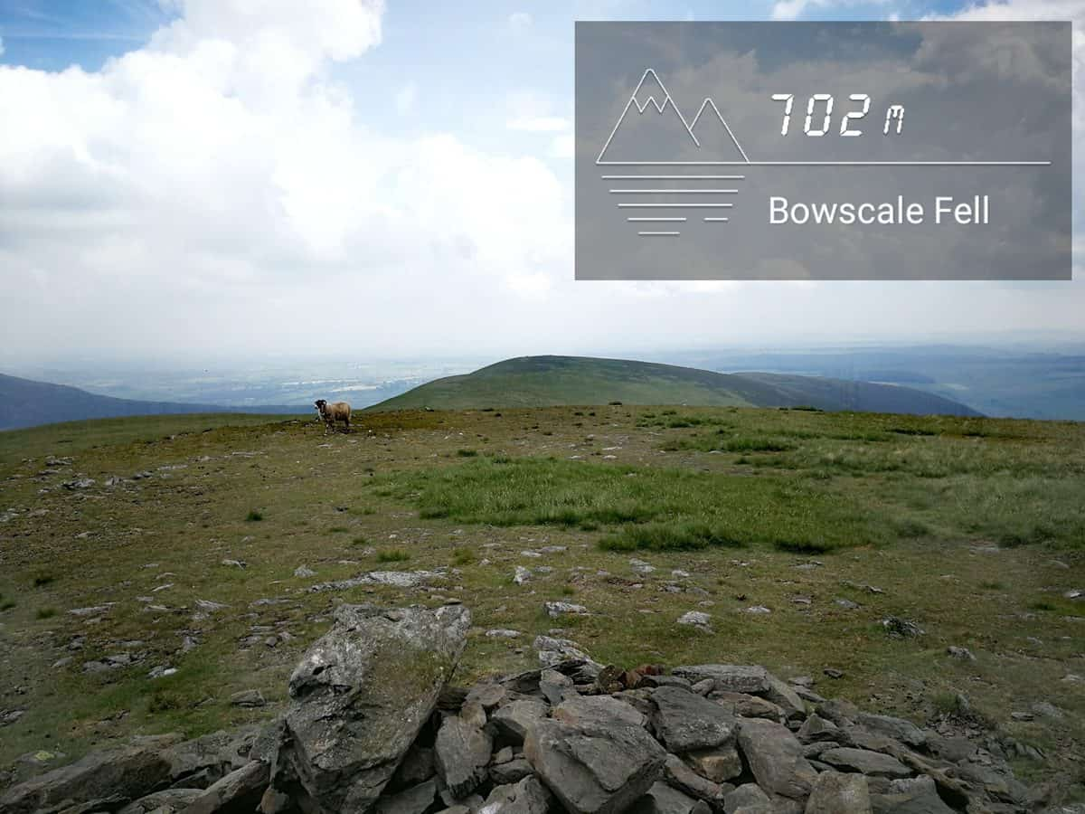 Bowscale Fell in the Lake District. Photo by True Freedom Seekers