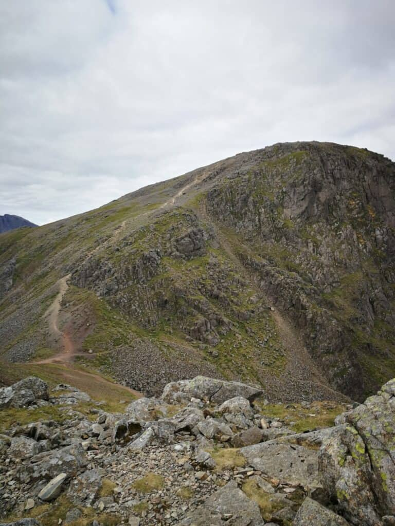 Great Gable walk up from Green Gable