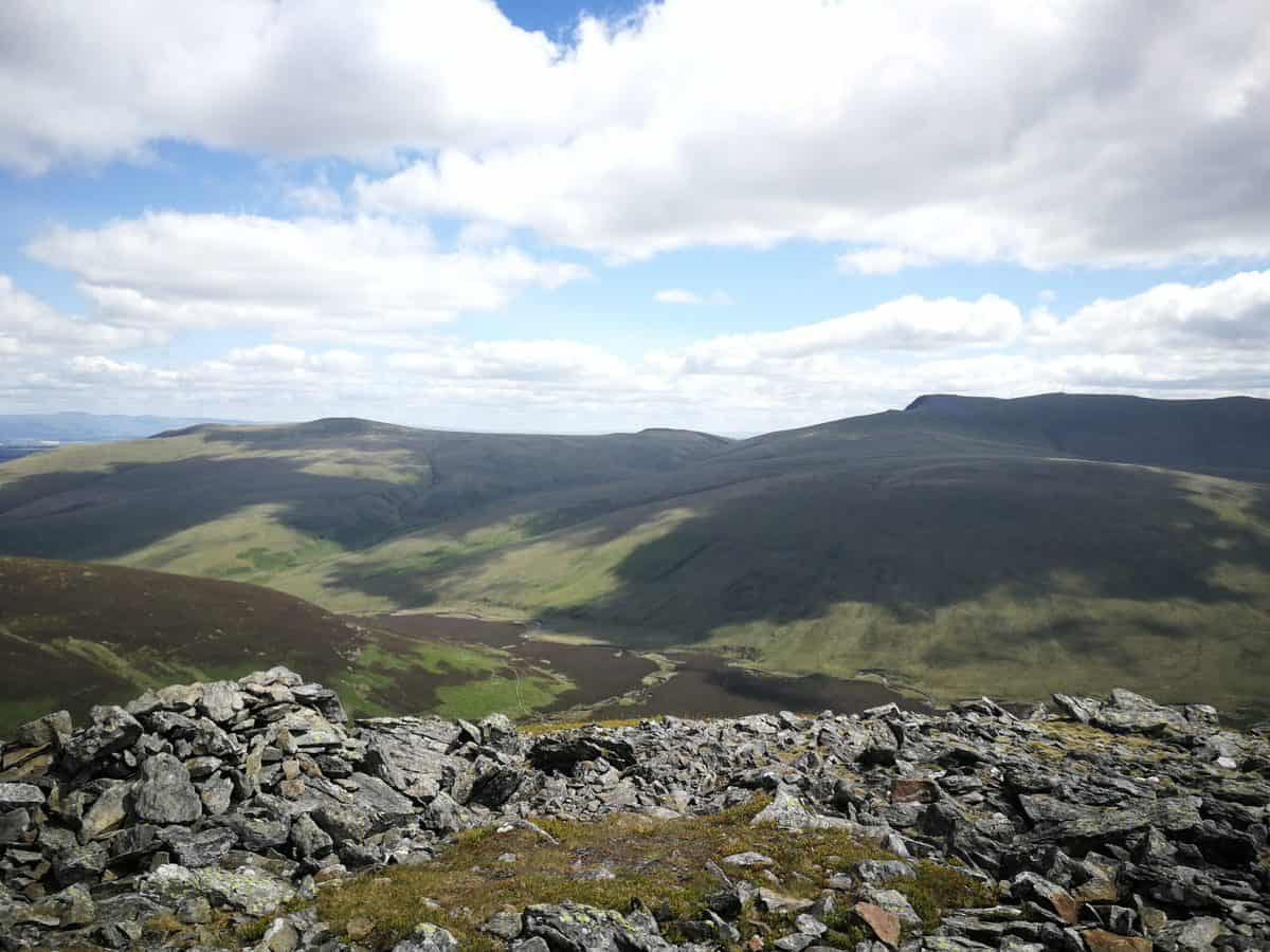 Looking across the Fells from Great Calva, our true freedom gallery