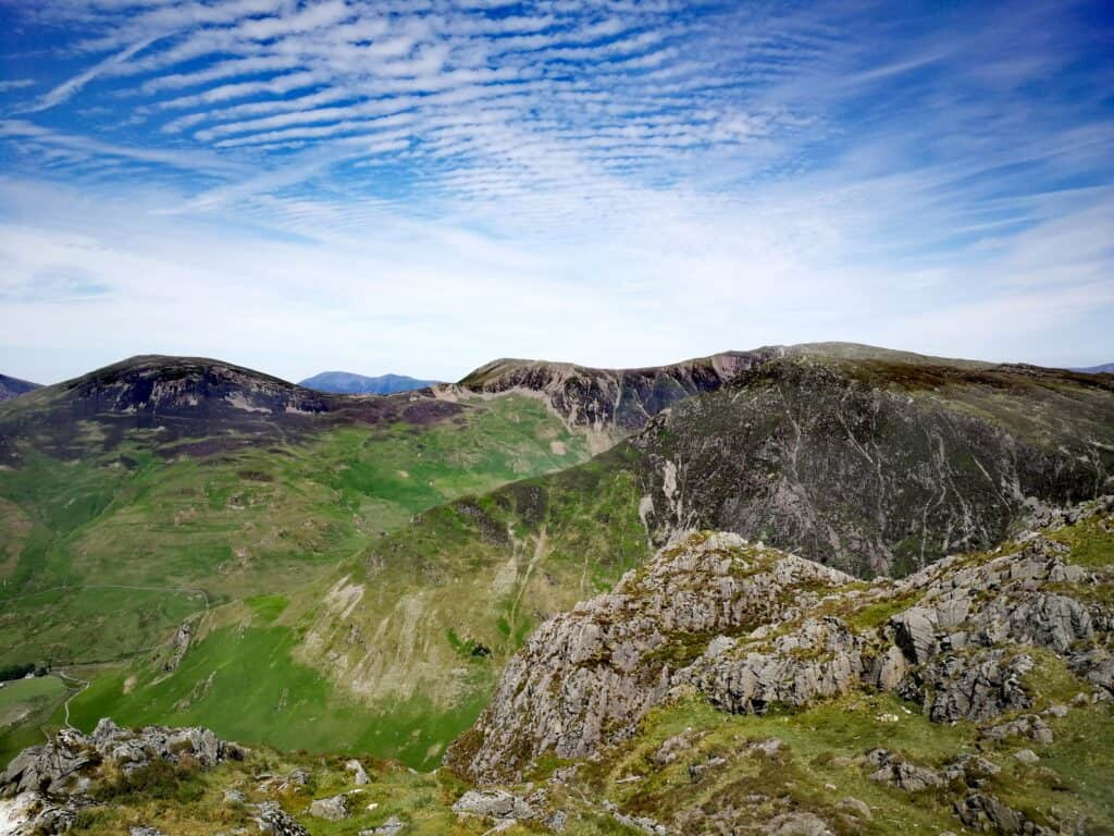 Overlooking the other Wainwrights from Haystacks in the Lake District
