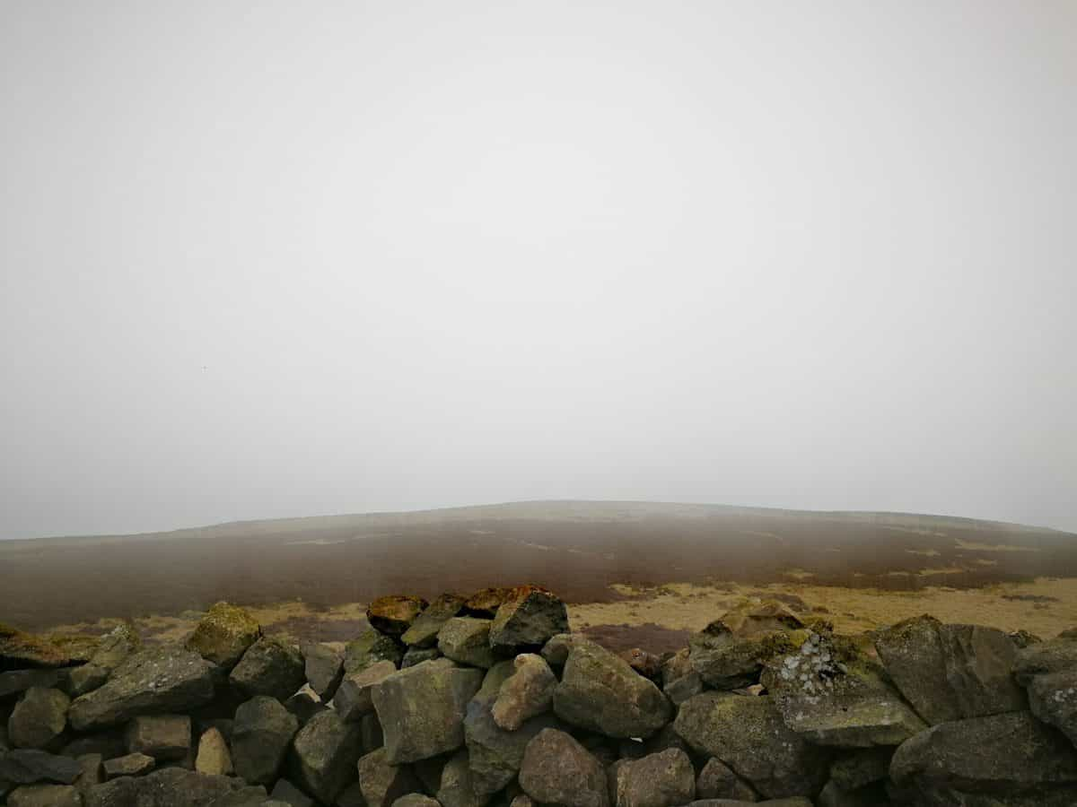 Misty view from Binsey in the Lake District on our gallery
