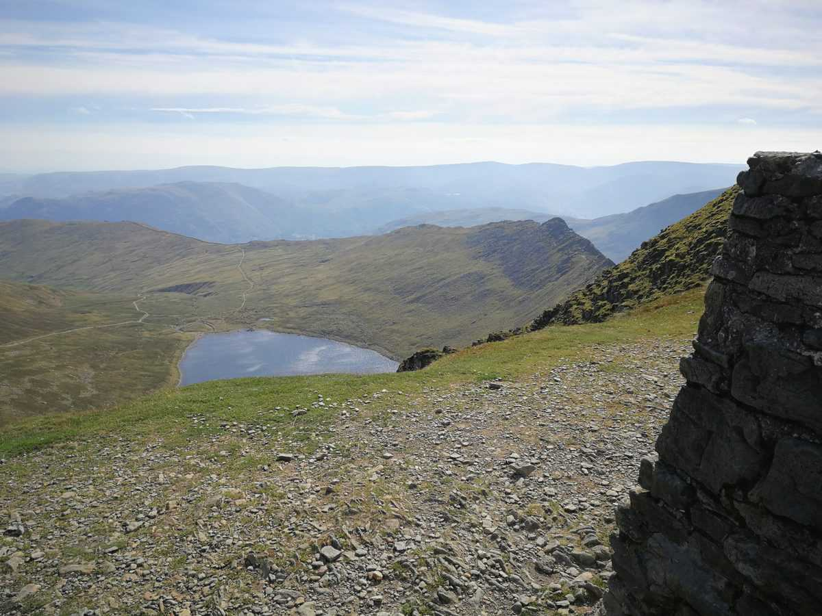 View from the third tallest Wainwright in the Lake District