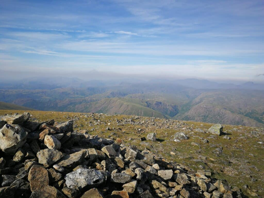 Another Wainwright bagged in the Lake District, the summit of Nethermost Pike, 1 more to go today, Helvellyn