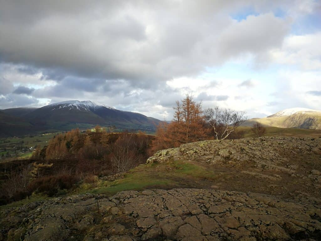 Finally made it to the summit of Walla Crag on our walk from Ashness Bridge in Cumbria