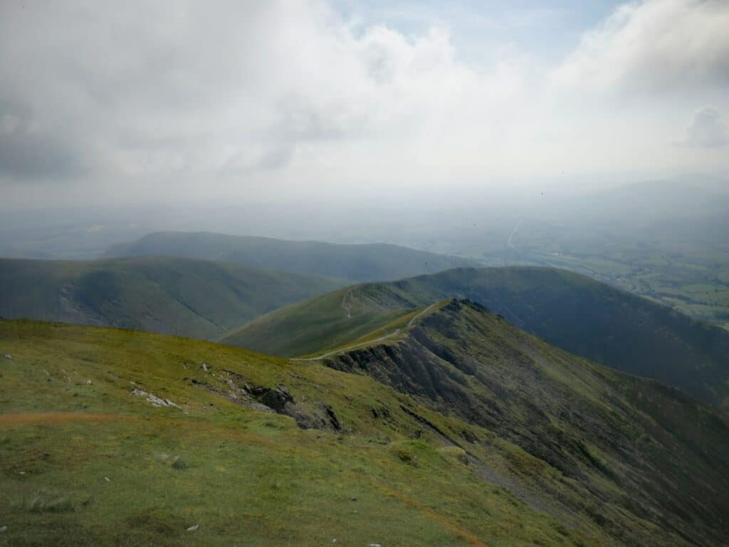 From Blencathra looking on to Atkinson Pike, our next Wainwright