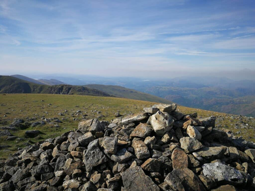 Nethermost Pike and the views from the Wainwright