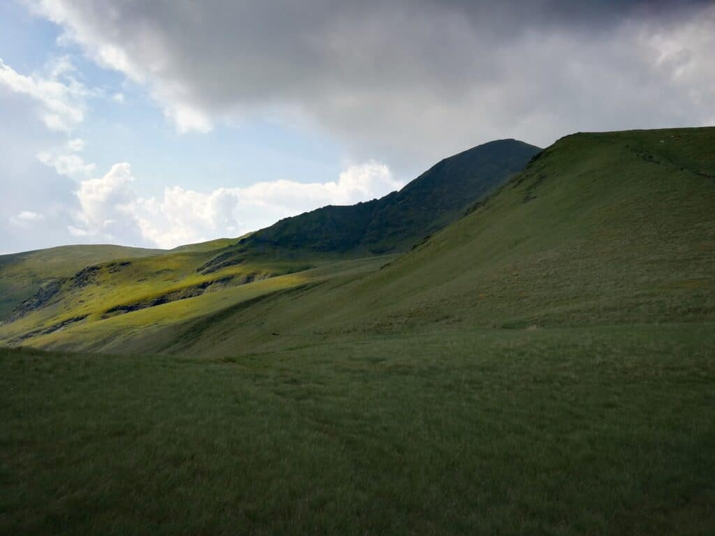 The walk from Mungrisdale Common to Bannerdale Crags
