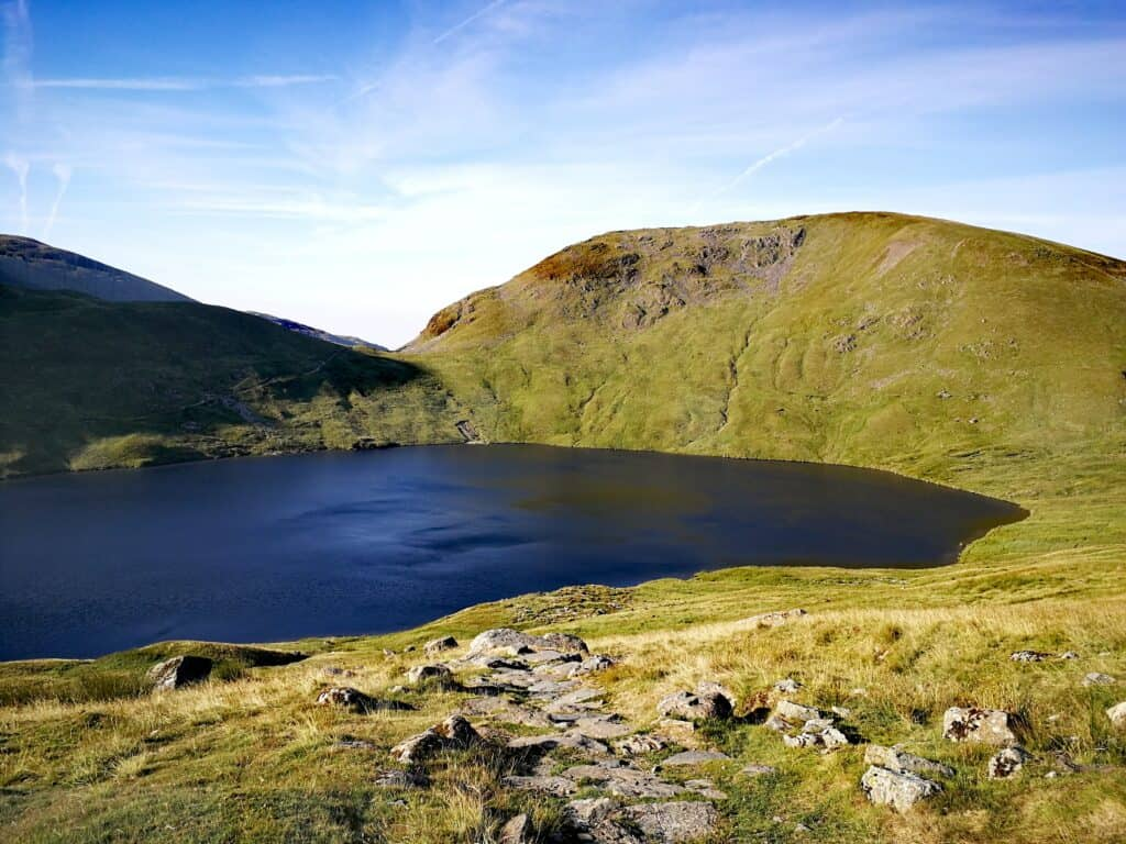 What a awesome place in the Lake District to wake up like the people camping over, Grisedale Tarn